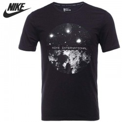 Original New Arrival  NIKE TEE-RU SATELLITE  Men's T-shirts short sleeve Sportswear