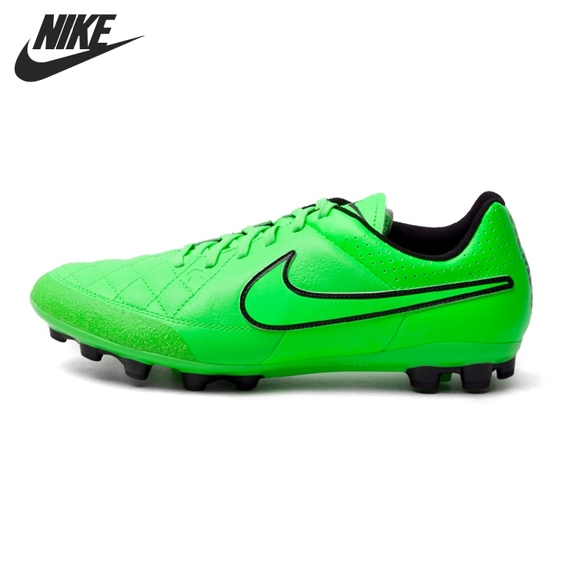 b104edffa8660 Original New Arrival NIKE TIEMPO GENIO LEATHER AG-R Men's Football Shoes  Soccer Shoes Sneakers