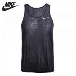 Original New Arrival  NIKE Women's Running Vests T-shirts Sleeveless Sportswear