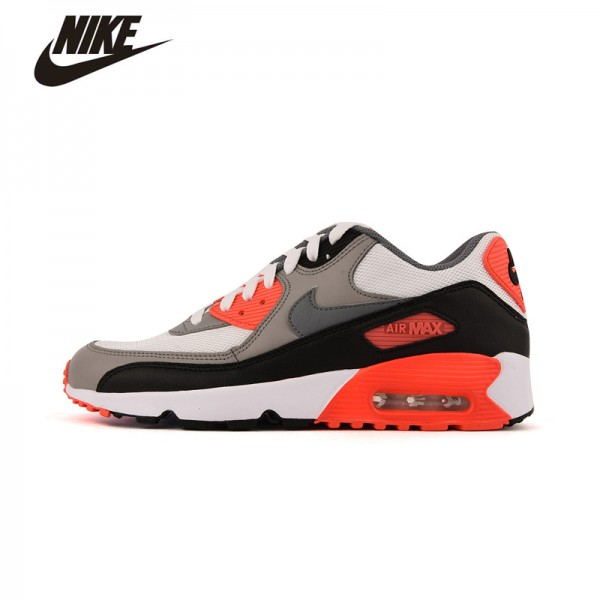 Original New Arrival 2016 NIKE AIR MAX 90 Woman's Low Top Breathable Running Shoes Sneakers #833418-102