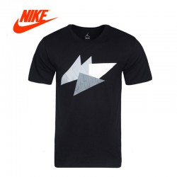 Original New Arrival 2017 Authentic NIKE AS AJ 7 ABSTRACT TEE Men's T-shirts short sleeve Sportswear