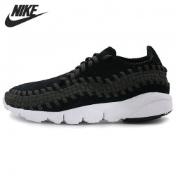 Original New Arrival 2017 NIKE AIR FOOTSCAPE WOVEN NM Men's Running Shoes Sneakers