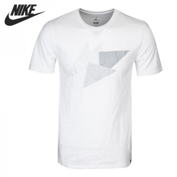Original New Arrival 2017 NIKE AS AJ 7 ABSTRACT TEE Men's T-shirts short sleeve Sportswear