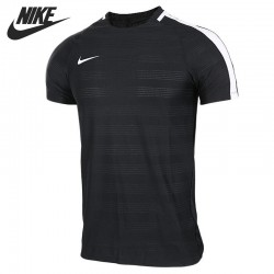 Original New Arrival 2017 NIKE AS M NK DRY SQD TOP SS DN Men's T-shirts short sleeve Sportswear