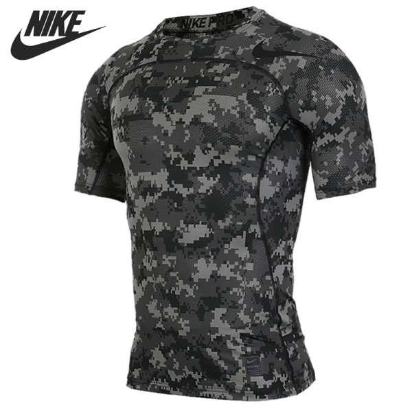 Original New Arrival 2017 NIKE AS M NP HPRCL TOP SS COMP D CA Men's T-shirts short sleeve Sportswear