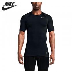 Original New Arrival 2017 NIKE AS M NP TOP COMP SS Men's T-shirts short sleeve Sportswear