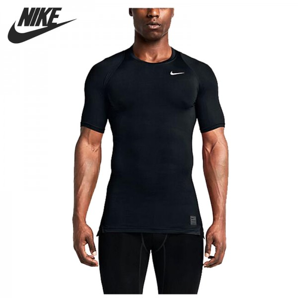 Original New Arrival 2017 NIKE AS M NP TOP COMP SS Men's T-shirts short sleeve Sportswear