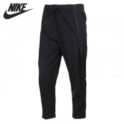 Original New Arrival 2017 NIKE AS W NSW BND PANT WOVEN Women's Pants Sportswear