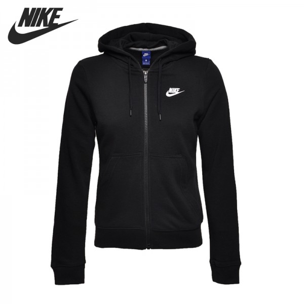 Original New Arrival 2017 NIKE AS W NSW HOODIE FZ FT Women's  Jacket Hooded Sportswear