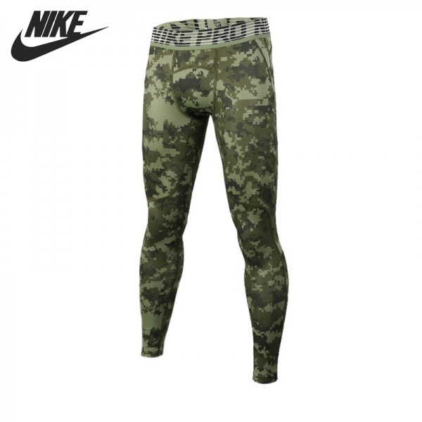 Original New Arrival 2017 NIKE HPRCL TGHT DIGI CAMO Men's Tight Pants Sportswear