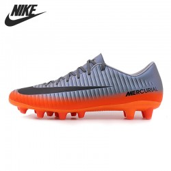 Original New Arrival 2017 NIKE MERCURIAL VICTORY 6 CR7 AG-PRO Men's  Football Soccer Shoes Sneakers