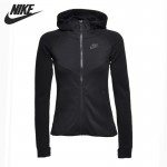 Original New Arrival 2017 NIKE NSW TCH FLC HOODIE FZ Women's Jacket Hooded Sportswear