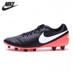 Original New Arrival 2017 NIKE TIEMPO GENIO II LEATHER AG-PRO Men's Football Shoes Soccer Shoes Sneakers