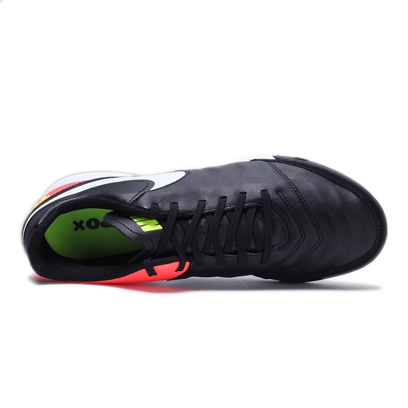 timeless design 4fd76 b9fae Original New Arrival 2017 NIKE TIEMPOX GENIO II LEATHER TF Mens Football  Shoes Soccer Shoes Sneakers