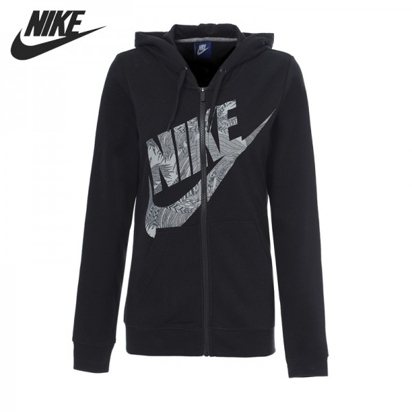 Original New Arrival 2017 NIKE W NSW HOODIE FZ RSTR FTR Women's Jacket Hooded Sportswear