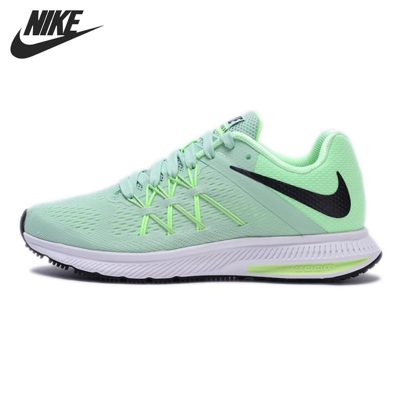 best sneakers 92046 5b582 Original New Arrival 2017 NIKE ZOOM WINFLO 3 Women's Running Shoes Sneakers