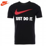 Original New Arrival 2017 Summer Official NIKE Just Do It Men's T-shirts short sleeve Sportswear