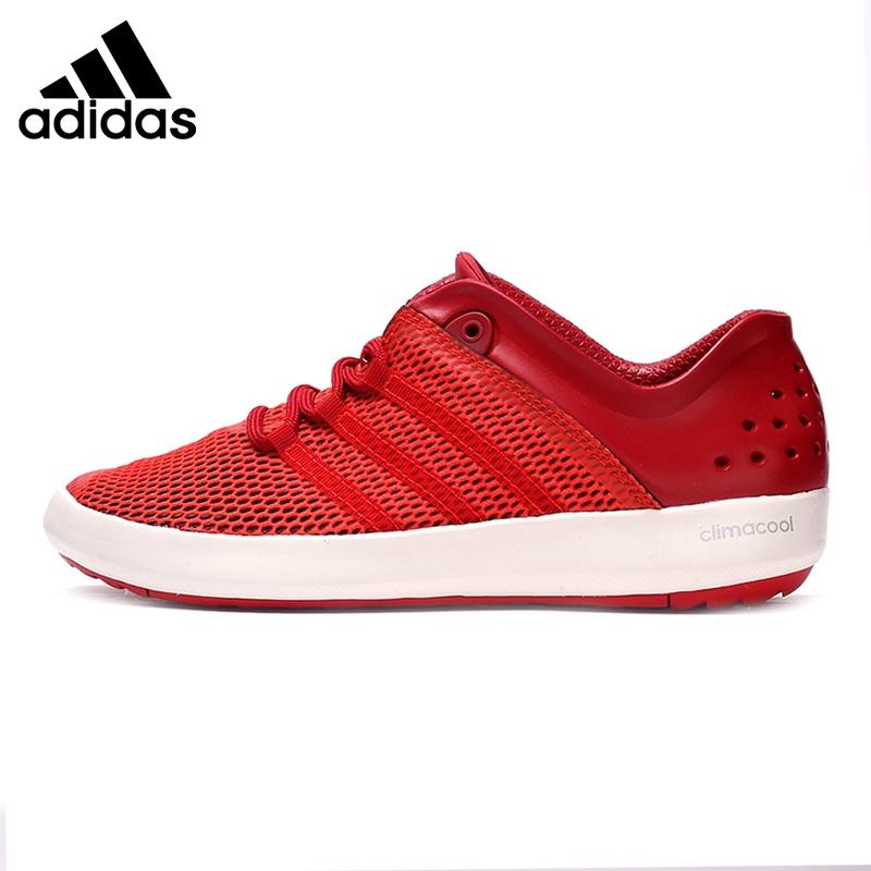 new styles 6cab6 f17e3 Original New Arrival Adidas Climacool Boat Pure Men's Aqua Shoes Outdoor  Sports Sneakers