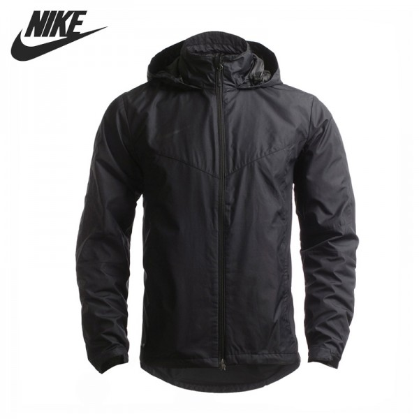 Original New Arrival NIKE AS SF1 RAIN JKT Men's Jacket Hooded Sportswear