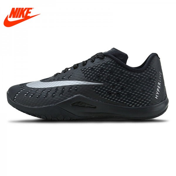 Original New Arrival NIKE Men's Breathable Basketball Shoes Sport Sneakers