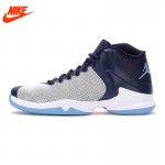 Original New Arrival NIKE Men's High top Breathable Basketball Shoes Sport Sneakers