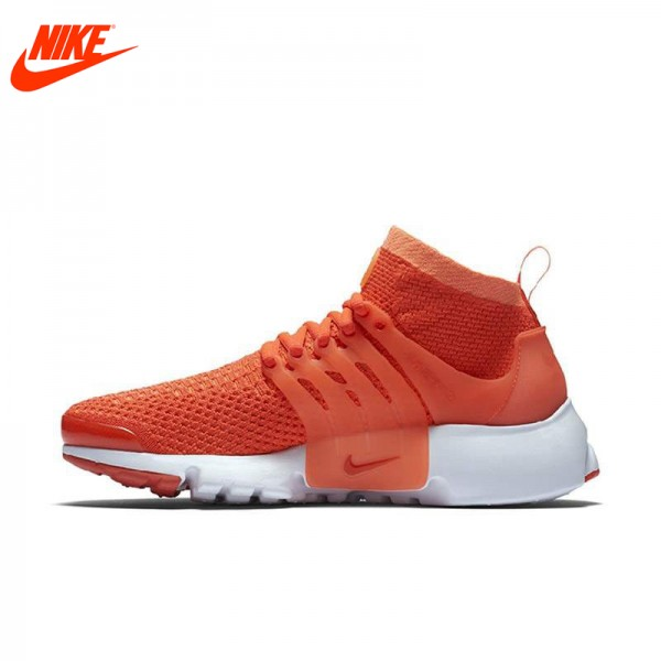 Original New Arrival Official NIKE Breathable Women's Running Shoes Sneakers Orange
