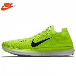 Original New Arrival Official NIKE Free RN Flyknit MS Men's Running Shoes Sneakers