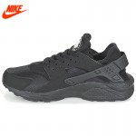 Original New Arrival Official Nike AIR HUARACHE RUN Men's Breathable Running Shoes Sneakers