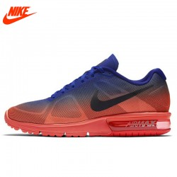 Original New Arrival Official Nike Men's Air Max Half-palm Cushioning Breathable Running Shoes Sneakers