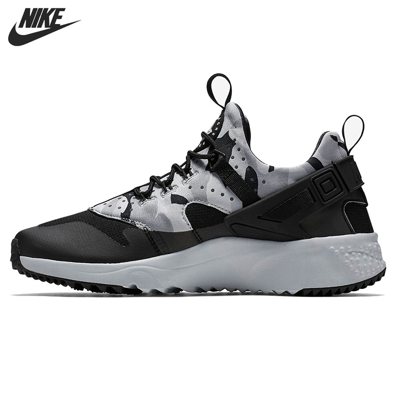 c771457c7076 Original NIKE AIR HUARACHE UTILITY Men s Skateboarding Shoes Sneakers free  shipping