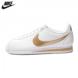 Original  NIKE CLASSIC CORTEZ LEATHER Women's  Skateboarding Shoes Sneakers free shipping