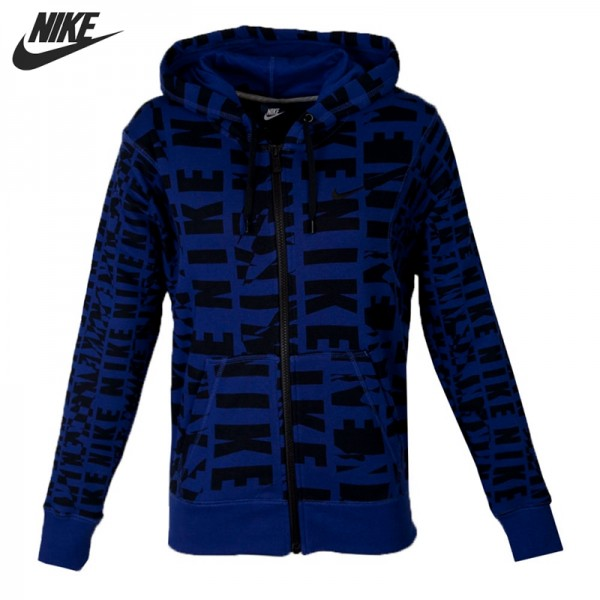 Original New Arrival 2016 NIKE CLUB FT FZ HOODY-AOP Women's  Jacket Hooded Sportswear free shipping