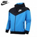 Original New Arrival NIKE WINDRUNNER-FLEECE MX men's  jacket Hooded Sportswear  free shipping
