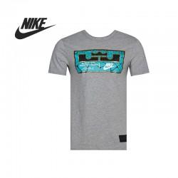 Original   Nike AS LEBRON JOCK TAG men's T-shirts 659916-063 Sportswear free shipping