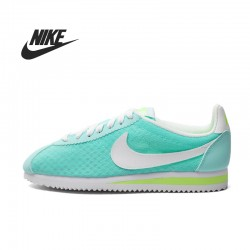 Original  Nike CLASSIC CORTEZ BR women's Skateboarding Shoes 644408-317-616-510 Low top sneakers free shipping