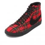 Original   Nike WMNS BLAZER MID TEXTILE PRM women's Skateboarding Shoes 685207-600 High-top sneakers free shipping