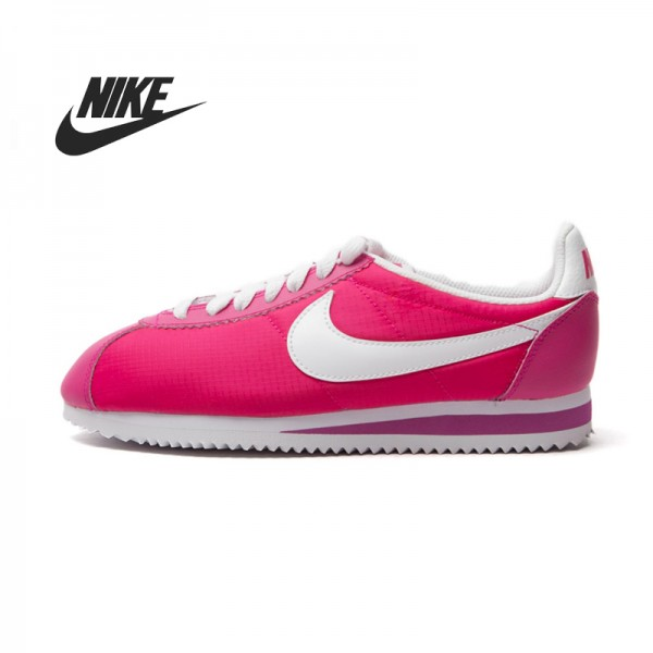 Original  Nike  WMNS CLASSIC CORTEZ NYLON women's Skateboarding Shoes sneakers free shipping