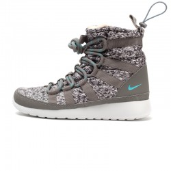 Original Nike W ROSHERUN HI SNEAKRBOOT PRINT women's Skateboarding Shoes  sneakers free shipping