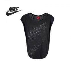 Original   Nike Women's knitted T-shirts 642773-014-550 Sportswear free shipping
