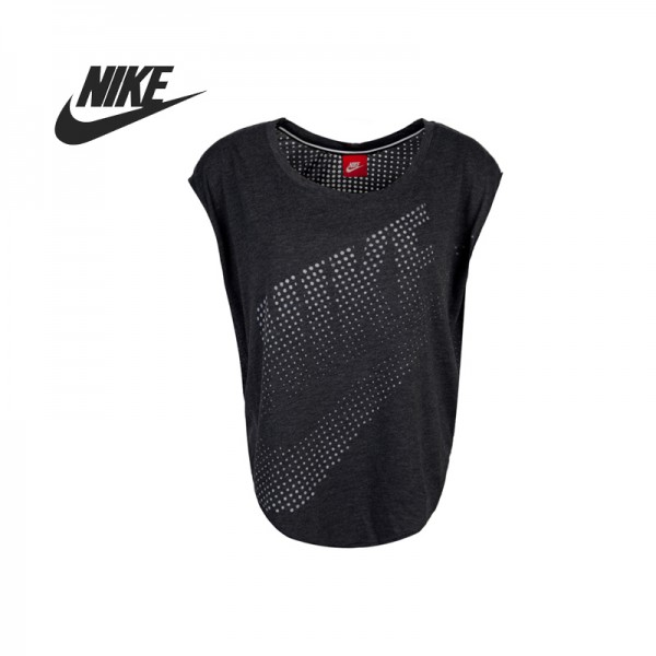 Original Nike Women's knitted T-shirts Sportswear free shipping