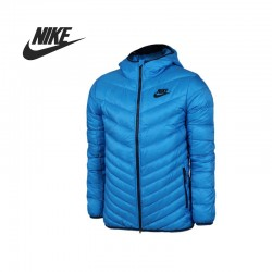 Original   Nike men's Down coat 541457-406 Hiking Down sportswear free shipping