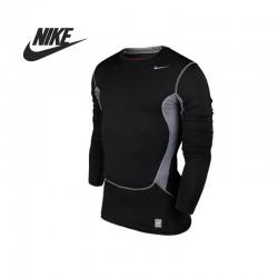 Original   Nike men's T-shirts 532500-011 Long sleeve Sportswear free shipping