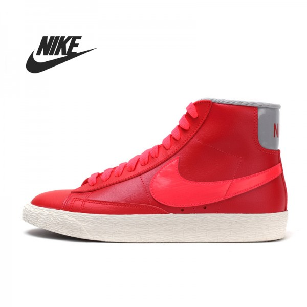 Original   Nike  women's Skateboarding Shoes 375573-612  High-top sneakers free shipping