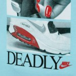 Original  Nike women's knitted T-shirts short-sleeved 589575-484 Sportswear free shipping