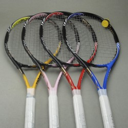 Six one/Pro open/Four Tennis racket Carbon fiber Tennis Racquets Strung Racket with Cover Bag Grip Size: L2(4 1/4)