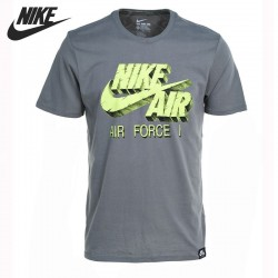 T-shirt dos homens do nike originais 689197-037/689197-480 sportswear de manga curta