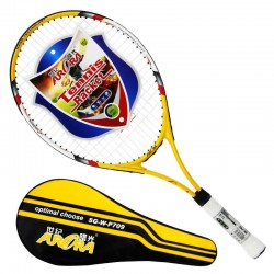 Tennis Racket Carbon Fiber Light Weight Tennes Racket Racquets Equipped with Bag Tennis for Children Adult Send 1 Overgrip L406