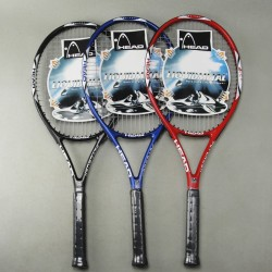 Tennis beginner's racket Head Carbon fiber Tennis Racket Racquets Equipped with Bag and 1pc overgirp Tennis Grip Size: 4 1/4