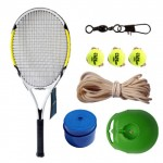 Tennis racket beginners single tennis training set for men and women