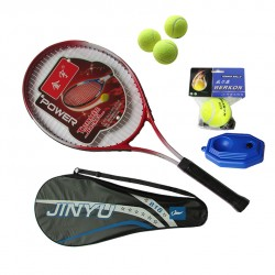Tennis racket tennis  genuine beginner novice training exercises alloy single  sets single-shot